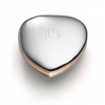 Lunavit Power Heart Duo - Herz aus Kupfer und Edelstahl **neues Design**