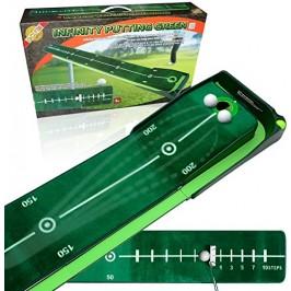 BEST Track Puttingmatte Infinity Green mit Ballrücklaufschiene