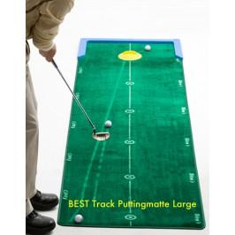 BEST Track Puttingmatte Large in der neuen Größe 3,20 m Länge und 75 cm Breite für PRO's und Amateure