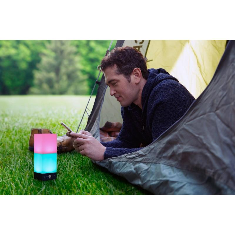 Camping mit Onia mini Smart Light