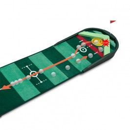 BEST Track Boomerang Auto Return Putting Mat